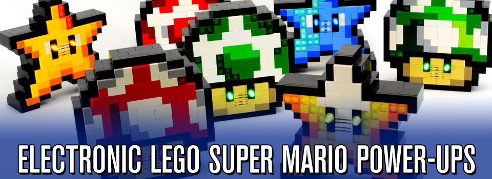 Electronic LEGO Super Mario Bros. Power-ups