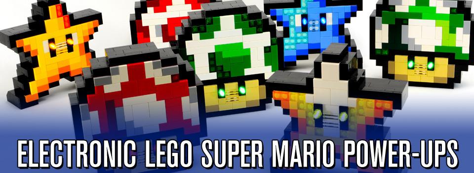 Electronic LEGO Super Mario Bros. Power-ups
