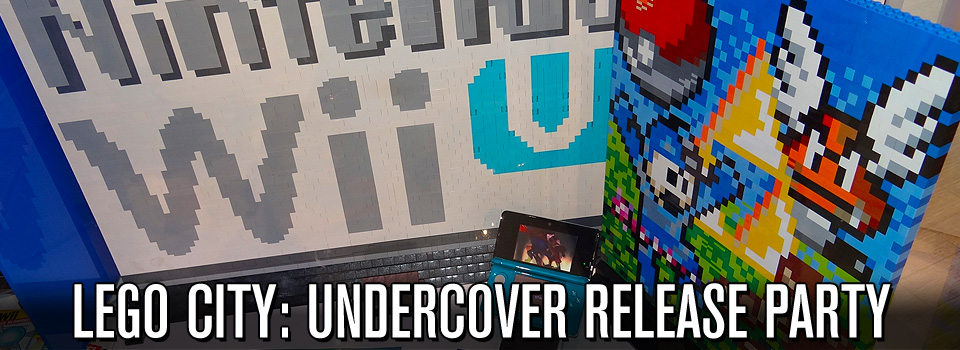 LEGO City: Undercover Release Party at Rockefeller Center
