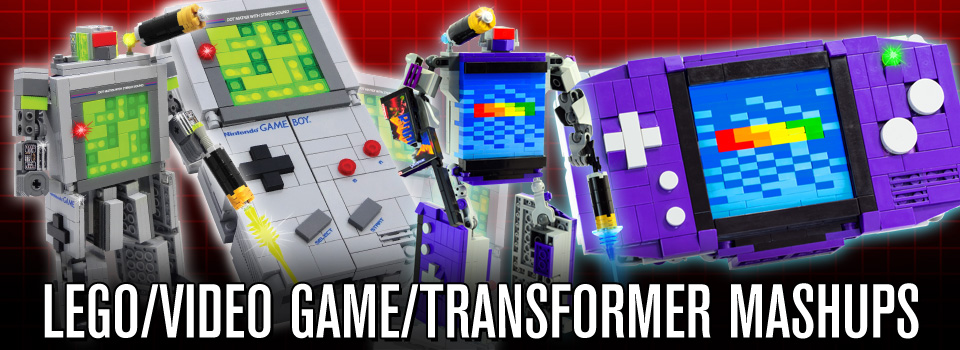 LEGO/Video Game/Transformer Mashups