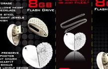 USB Heart Drive